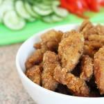 Sojowe nuggetsy – nuggetsy z kotletów sojowych