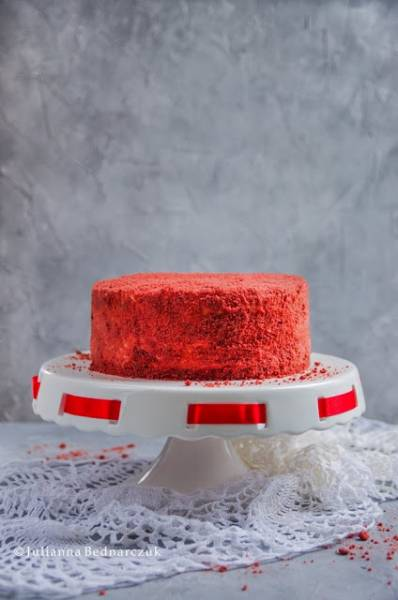 Red velvet cake - tort o aksamitnym smaku