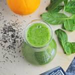 Zielone orzeźwiające smoothie