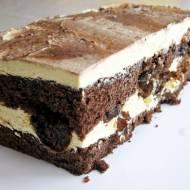 Ciasto z suszonymi śliwkami