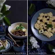 Przepis na twarożek z żurawiną: do naleśników z sosem czekoladowym i na kluseczki z masłem