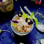 Pudding chia z gruszką i płatkami gryczanymi (Vege & gluten free)