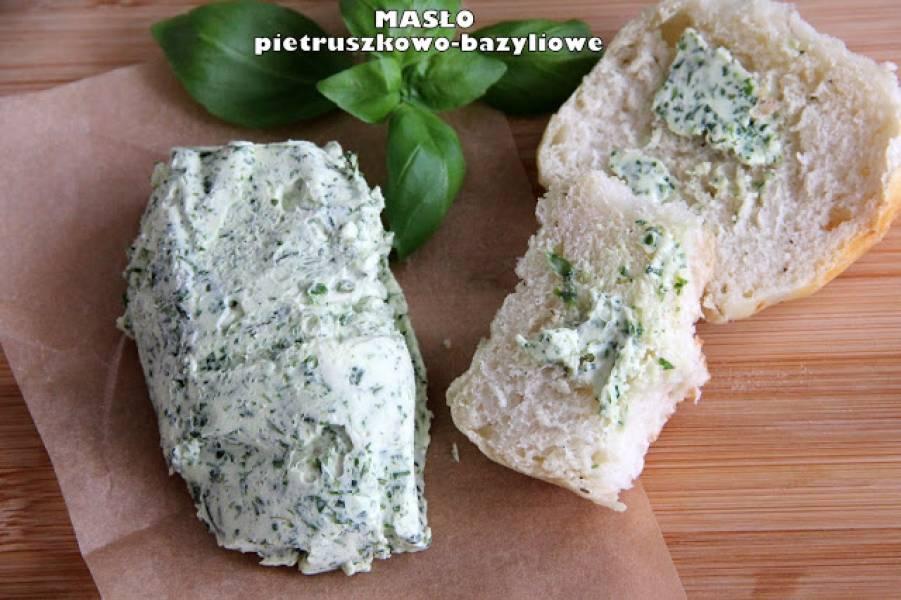 Masło pietruszkowo-bazyliowe
