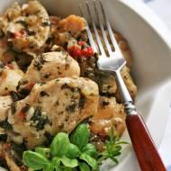 Filet z kurczaka ze świeżymi ziołami
