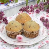 Jagodowe muffinki.