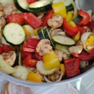 Pyszne grillowane warzywa