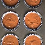 Fasolowe muffiny z masłem orzechowym