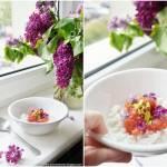 Ryż na mleku z rabarbarem i pistacjami
