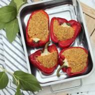 Papryka faszerowana kaszą bulgur