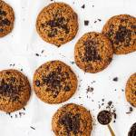 Ciastka orzechowo - czekoladowe - bez dodatku mąki i cukru