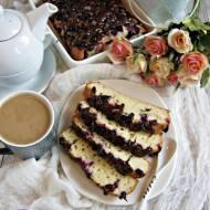 Ciasto orkiszowe z porzeczkami