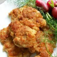 Kotlety smażone z udźca kurczaka