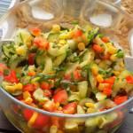 sałatka z surowej cukinii (do grilla)