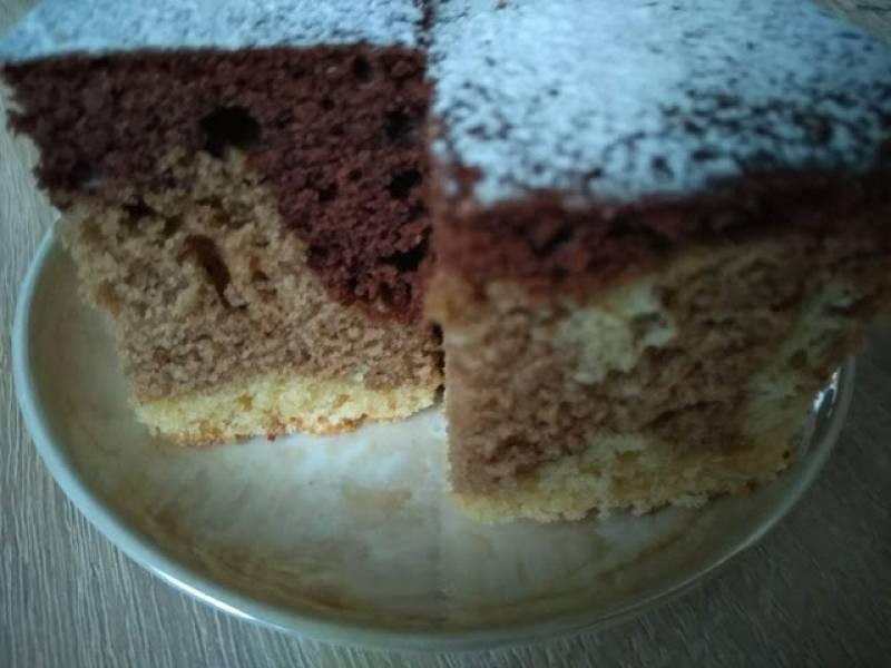 Kolorowe ciasto ucierane