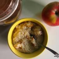 Jaglanka z jabłkami i cynamonem
