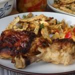 Kurczak pieczony w musztardzie