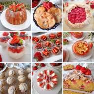 10 przepisów na słodkości z truskawkami (10 dolci con le fragole)