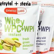 Odżywki białkowe słodzone erytrolem i stewią - GymtecLabs