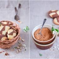 Łaciate ciastka z karobem / Spotted cookies with a carob