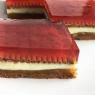 Ciasto z rabarbarem bez pieczenia
