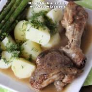Kawałki kurczaka w sosie własnym (pieczeniowym)