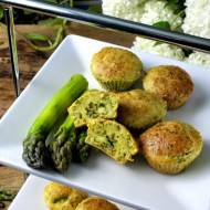 muffinki ze szparagów - szparagowe muffinki