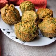 Muffiny szpinakowo kokosowe dla małych i dużych