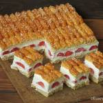 Ciasto z truskawkami dla leniwych w 10 minut