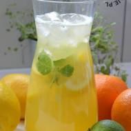 Lemoniada cytrusowa z pomarańczą