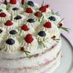 Prosty tort śmietankowo - owocowy