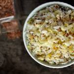 Ryż smażony z porem