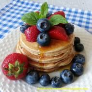 Pełnoziarniste pancakes na maślance