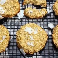 Kokosowe ciasteczka z płatkami amarantusa (bez cukru i mąki)