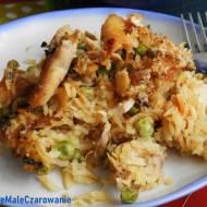 Zapiekanka z ryżu i kurczaka