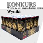 Wyniki konkursu z Crypto Energy Drink