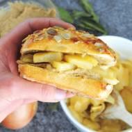 Wegańskie kanapki z ananasem