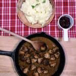Niedzielny obiad: Szwedzkie pulpeciki z ziemniaczanym pure