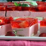 Sernik truskawkowy - na zimno