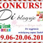 Konkurs - Di bloguje & Zdrowy Lizak Mniam-Mniam - do wygrania miesięczny zapas lizaków