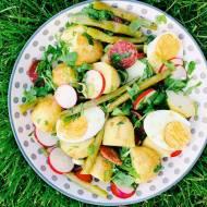 Poniedziałek: Sałatka z młodymi ziemniakami