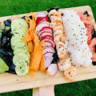 Wtorek: Domowe sushi – bez zawijania:)