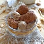 Lody tiramisu z ciasteczkami Amaretti