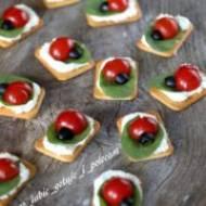 Mini kanapeczki imprezowe – biedronki
