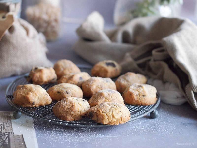 Ciasteczka maślane z czekoladą / Butter cookies with chocolate