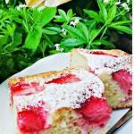 Truskawkowe ciasto kubeczkowe