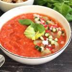 Chłodnik pomidorowy. Przepis krok po kroku