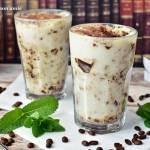 Kawowa pianka jak mrożone cappucino