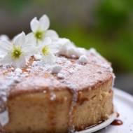 Mini sernik jaglany o smaku cappuccino i Wine & Garden Hotel w Komborni