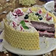 Tort czarny bez