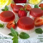 Deserki truskawkowo-jogurtowe